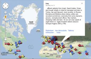 Kidney map